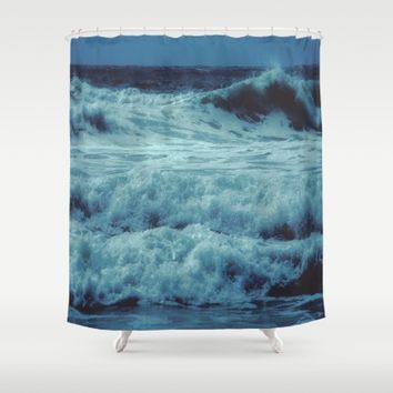 Come a Little Closer Shower Curtain by Ducky B