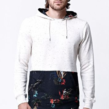 On The Byas - Star Wars Chewy Tropical Hoodie - Mens Shirt - White