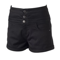 Tinseltown High-Waisted Jean Shorts