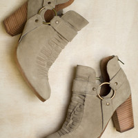 Impossible Suede Seychelles Bootie