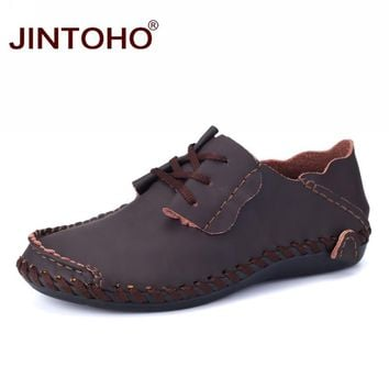 Genuine Leather Shoes Casual Men Shoes Designer Male Leather Shoes Leather Loafers
