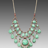 Natalie B Cassidy II Necklace in Rust