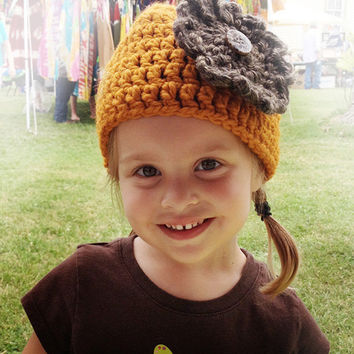Crochet Flapper Style Hats- Newborn through Adult Sizes
