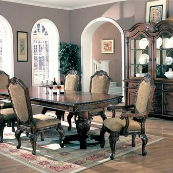 Westminster Double Pedestal Dining Table Set