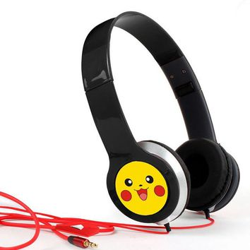 New Design Pokemon Go  Earphone With Microphone For Mobile Phone