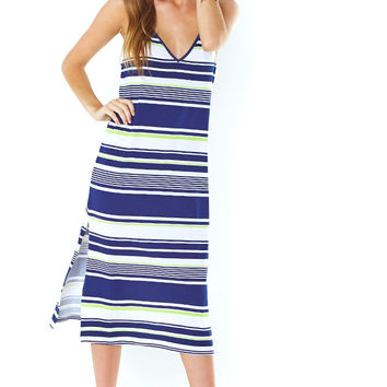 Stripe Print Cami Dress