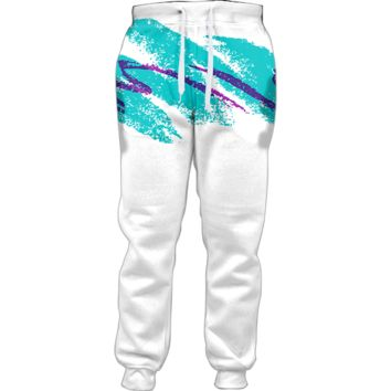 Jazzy 90s Paper Cup Joggers