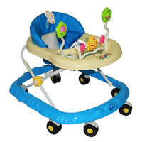 AA1 Big Wheel Baby Toddler Walker Kid First Steps Learning to Walk  blue