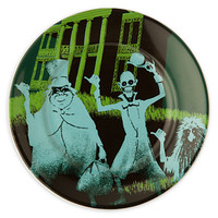 "disney parks attraction poster plate haunted mansion 7"" hitchhinging ghosts new"