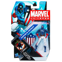 Marvel's Patriot Marvel Universe Series 4 #02 Action Figure