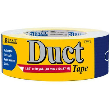 """BAZIC 1.88"""" X 60 Yards Blue Duct Tape"""
