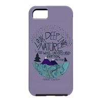 Leah Flores Einstein Nature 2 Cell Phone Case