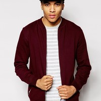 River Island Jersey Bomber