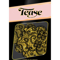 Tease Gold Lace Print Flower - O-s
