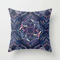Midnight Circus Throw Pillow by Micklyn   Society6