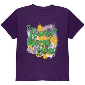 PEAPGQ9 The Queen of Mardi Gras Youth T Shirt