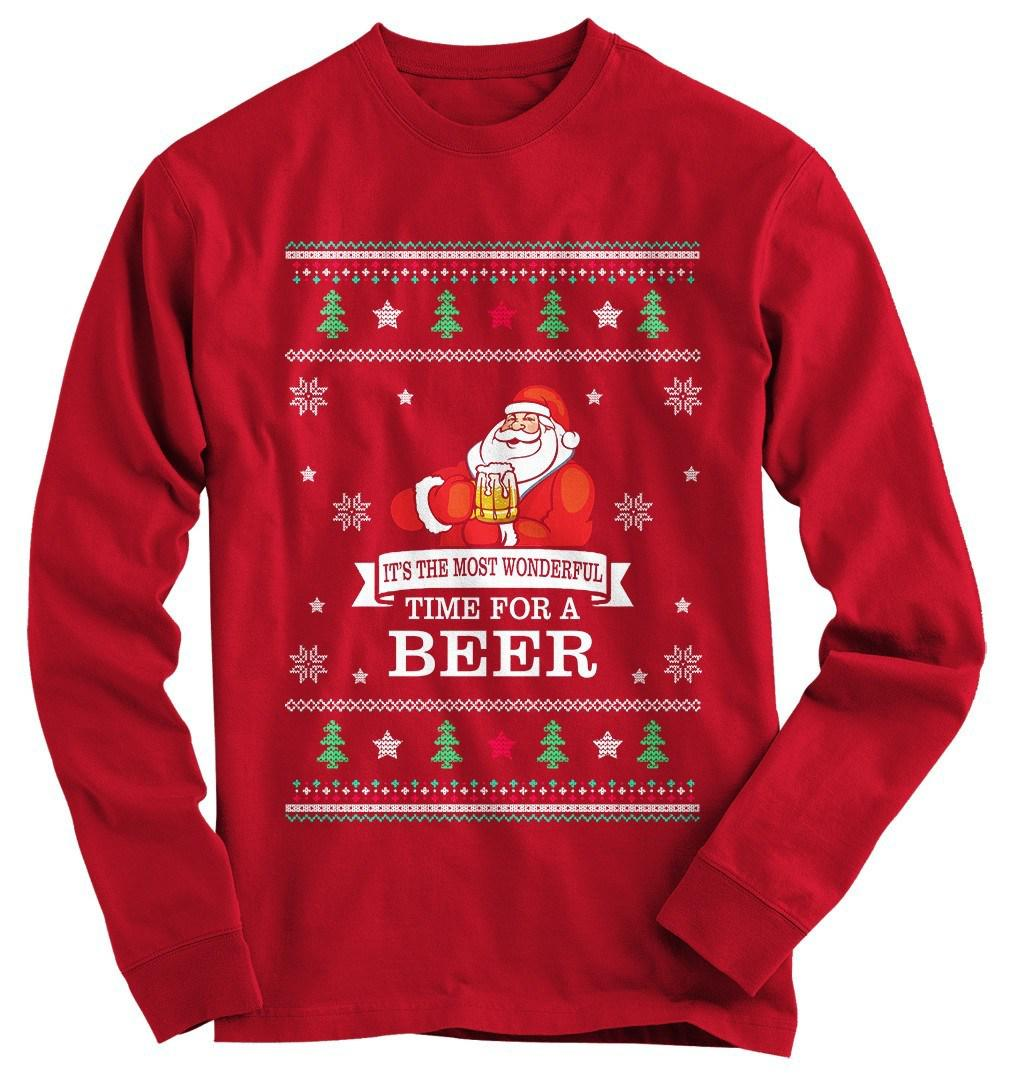Beer Ugly Christmas Sweater from Gnarly Tees | Holidays