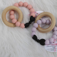 Bow Teether Toy