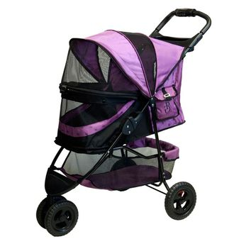 No-Zip Special Edition Pet Stroller, Orchid