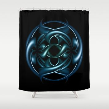 Circle of life II Shower Curtain by VanessaGF | Society6