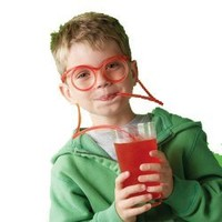 Weird Gifts: Adult Party Decorations - Party Drinking Straw Glasses Play Ps3 and Drink in Same Time - - Make Your Party Funny More (Random Color):Amazon:Everything Else
