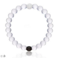 Lokai for a Balanced Life (White)