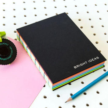 Bright Ideas Journal With A Rainbow Of Pages