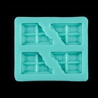 DIY Windows Shape Cake Mould Silicone Handmade Soap Molds. = 1704243972