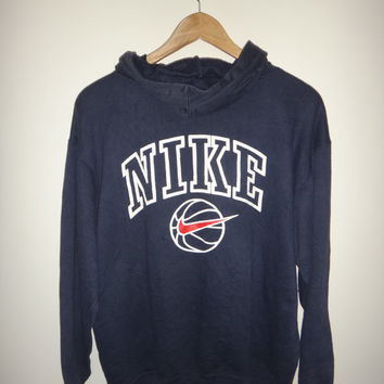 New Year Sale Vintage NIKE Baseball Hoodie Sweater NBA