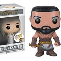Funko POP Game of Thrones: Khal Drogo & Khaleesi Wedding Limited Edition Vinyl Figure
