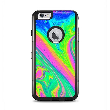 The Neon Color Fushion V3 Apple iPhone 6 Plus Otterbox Commuter Case Skin Set