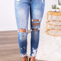 Kan Can- Carson Skinny Jeans