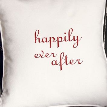Cathy's Concepts 'Happily Ever After' Accent Pillow