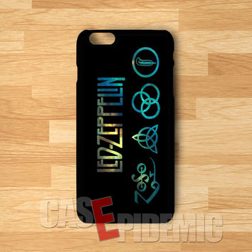 Led Zeppelin Symbol - zDD for iPhone 6S case, iPhone 5s case, iPhone 6 case, iPhone 4S, Samsung S6 Edge