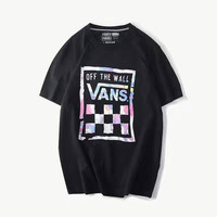 VANS Woman Men Fashion Multicolor Scoop Neck Tunic Shirt Top Blouse