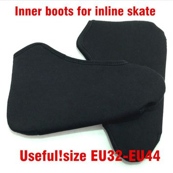 Speed skating boot Liner Inner Boots For Adjusting One or Two Size Lining Fitable Inline Speed Skates stocking Kid Adult Train