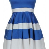 The Sweetheart Striped Dress