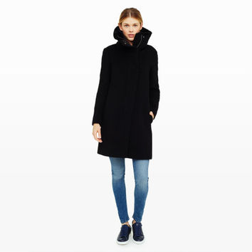 Rocio Funnel Collar Coat - Coats The Coat Shop at Club Monaco