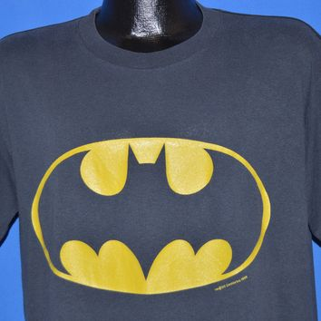 80s Tim Burton's Batman Movie 1989 t-shirt Large