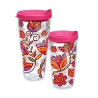 Tervis® Pink Flower Wrap Tumbler with Lid