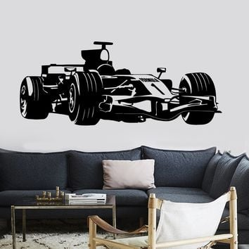 Wall Vinyl Decal Carting Karting Speed Race Car Decor Unique Gift z3729