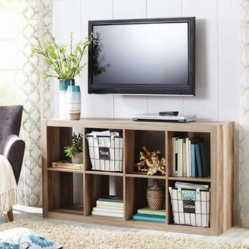 Modern Better Homes and Gardens 8-Cube Organizer, by (Beige)