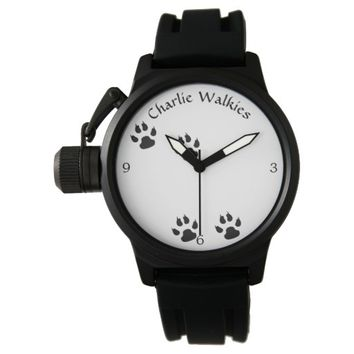 Dog Footprints Template Wristwatch