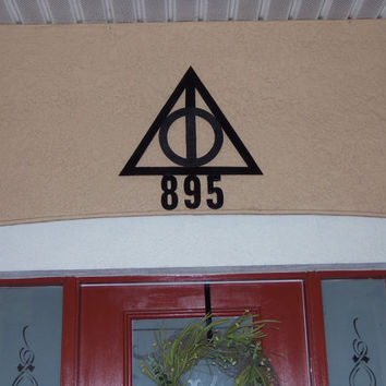 Deathly Hallows House Numbers