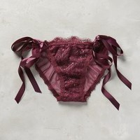 Hanky Panky Ribboned Bikini Dark Purple