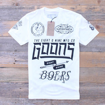 Trenches Tonight Team Jersey Tee White