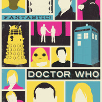 Doctor Who - The Ninth Doctor Art Print by Bill Pyle
