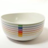 Retro Block China Harmony SERVING BOWL Sextet by modernspecific