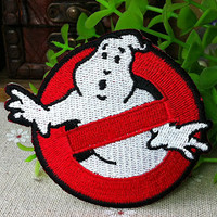 Ghostbusters iron on patch E034 by happysupply on Etsy