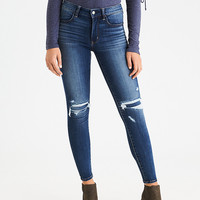 AEO Denim X Hi-Rise Jegging, Patch Me Up